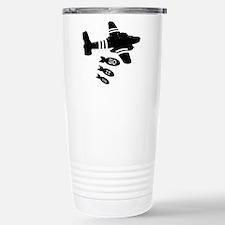 Anti war Travel Mug