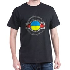 Hard Core Ukraine Boxing T-Shirt