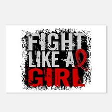 Fight Like a Girl 31.8 Stroke Postcards (Package o