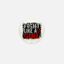 Fight Like a Girl 31.8 Stroke Mini Button (10 pack