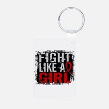 Fight Like a Girl 31.8 Stroke Keychains