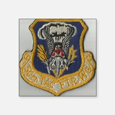 "50th Tactical Fighter wing Square Sticker 3"" x 3"""