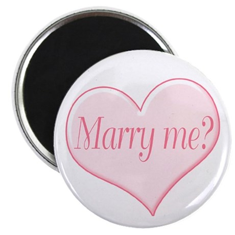 """""""Marry me?"""" 2.25"""" Magnet (100 pack)"""