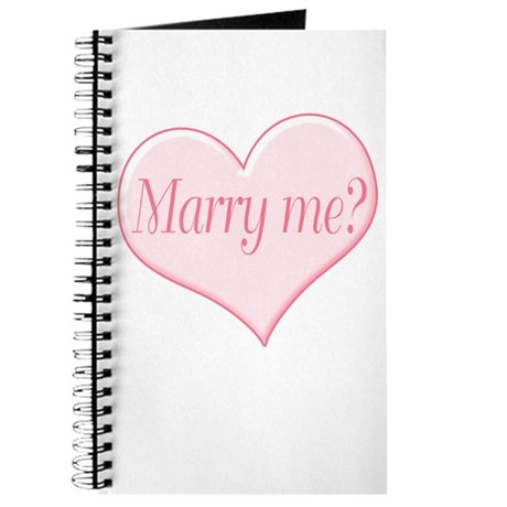 """""""Marry me?"""" Journal"""