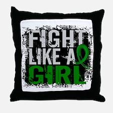 Licensed Fight Like a Girl 31.8 Kidne Throw Pillow