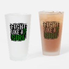 Licensed Fight Like a Girl 31.8 Kid Drinking Glass