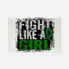 Licensed Fight Like a Girl 31.8 K Rectangle Magnet