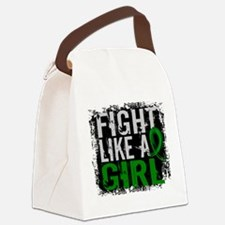 Licensed Fight Like a Girl 31.8 K Canvas Lunch Bag