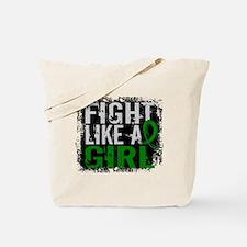 Licensed Fight Like a Girl 31.8 Kidney Di Tote Bag