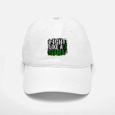Licensed Fight Like a Girl 31.8 Liver Cancer Baseball Baseball Cap