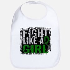 Licensed Fight Like a Girl 31.8 Liver Cancer Bib