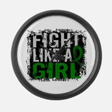 Licensed Fight Like a Girl 31.8 L Large Wall Clock
