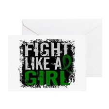 Licensed Fight Like a Girl 31.8 Live Greeting Card