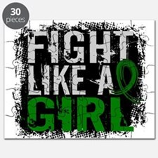 Licensed Fight Like a Girl 31.8 Liver Cance Puzzle
