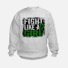 Licensed Fight Like a Girl 31.8 Ce Sweatshirt