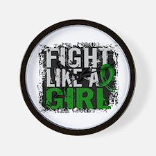Licensed Fight Like a Girl 31.8 Cerebra Wall Clock