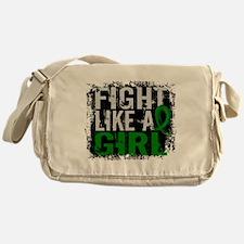 Licensed Fight Like a Girl 31.8 Cere Messenger Bag