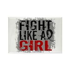 Licensed Fight Like a Girl 31.8 S Rectangle Magnet