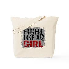 Licensed Fight Like a Girl 31.8 Skin Canc Tote Bag