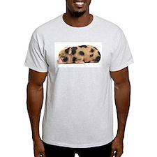 Micro pig sleeping T-Shirt