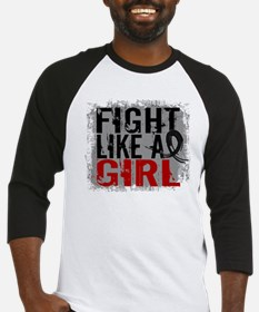 Licensed Fight Like a Girl 31.8 Me Baseball Jersey