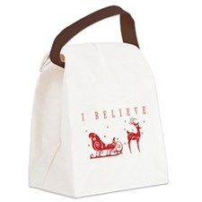 I Believe Canvas Lunch Bag
