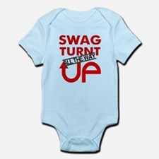 Swag Turnt all the way up! Infant Bodysuit