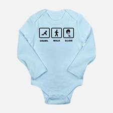 Paragliding Long Sleeve Infant Bodysuit