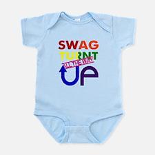 Swag Turnt Up Rainbow Infant Bodysuit