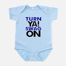 Turn Ya Swag On Infant Bodysuit