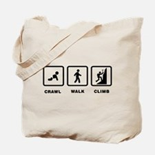 Mountain Climbing Tote Bag