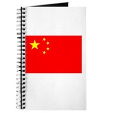 China Flag Picture Journal
