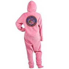USSTRATCOM Emblem Footed Pajamas