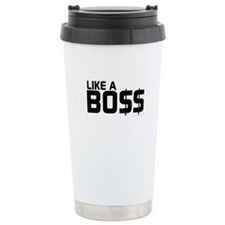 Like A Boss Travel Mug