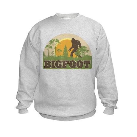 Bigfoot Kids Sweatshirt