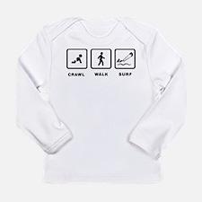 Kitesurfing Long Sleeve Infant T-Shirt