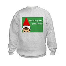 Inappropriate Elf Sweatshirt