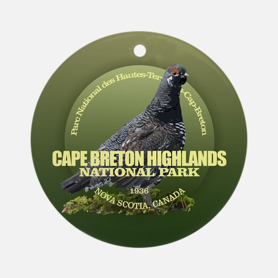 Cape Breton Highlands Round Ornament