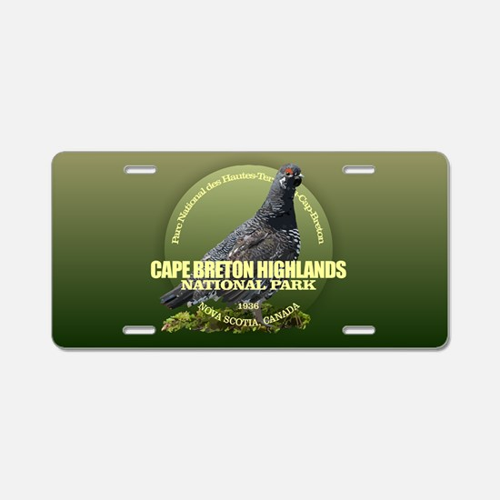 Cape Breton Highlands Aluminum License Plate