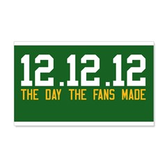 12.12.12 Alternate style Wall Decal