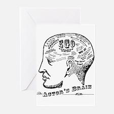 actors-brain Greeting Cards