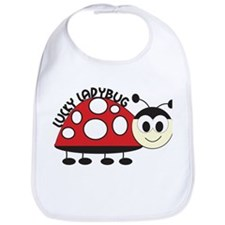 Lucky Ladybug Bib