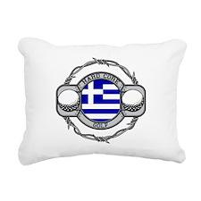 Greece Golf Rectangular Canvas Pillow