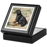 Dobermann Keepsake Boxes