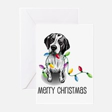 lights pointer Greeting Cards