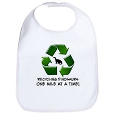 Recycling Dinosaurs One Mile at a Time Bib