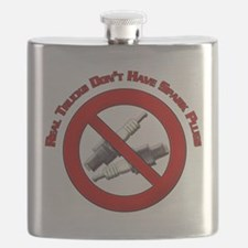 Real trucks dont have spark plugs Design Flask
