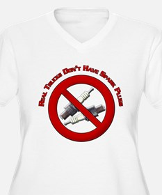 Real trucks dont have spark plugs Design T-Shirt