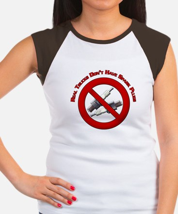 Real trucks dont have spark plugs Design Women's C