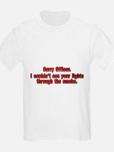 Sorry Officer T-Shirt